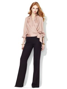 Hudson Wool Suiting Pant by Rachel Zoe on Gilt.com (Love this whole outfit!)