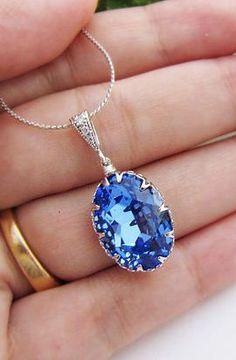 something blue. gorgeous!