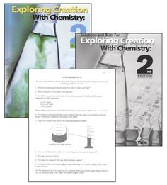 Exploring Creation w/ Chemistry SET | Main photo (Cover)  Check out www.NYHomeschool.com as well.