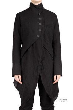 Marc Le Bihan - Frock Coat # MarcLeBihan Le Bihan double from Marc Le Bihan in Frock Coat, Superfly, Wearable Art, Frocks, Leather Boots, London, Boutique, Suits, Blouse
