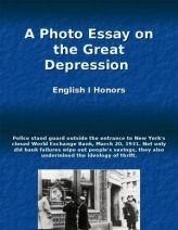 Essay depression new deal