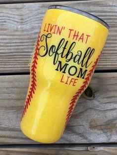 Softball tumbler personalized tumbler softball mom softball fan sports cup sports fan softball epoxy tumbler gift for mom and dad … Personalized Pencils, Personalized Tumblers, Custom Tumblers, Epoxy, Mom Tumbler, Tumbler Cups, Softball Mom, Softball Stuff, Fastpitch Softball
