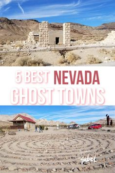 Visit these 5 Nevada Ghost Towns for a taste the wild west history. Covering both Southern Nevada and Northern Nevada, these ghost towns are accessible from Las Vegas or Reno. Las Vegas Trip, Las Vegas Nevada, Sierra Nevada, Vacation Trips, Vacation Spots, Ghost Towns In Nevada, Death Valley Lsu, Reno Nevada, America