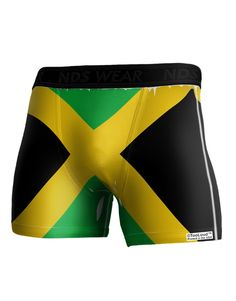 Jamaica Flag AOP Boxer Brief Dual Sided All Over Print