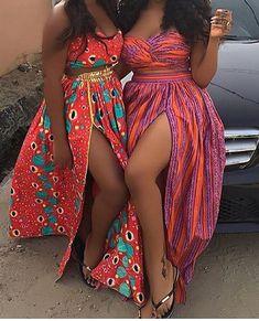 Ankara maxi skirt African print maxi skirt Maxi by MaDeInAfrikaGh ~African fashion, Ankara, kitenge, African women dresses, African prints, African men's fashion, Nigerian style, Ghanaian fashion ~DKK