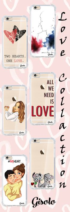 love collection high quality silicon cases cover for iPhone https://gisolo.com/en/