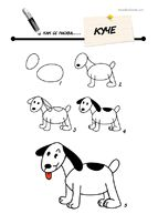 Site has a lot of cute & easy 'how to draw' images
