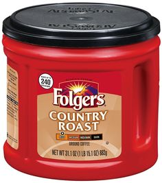 Folgers Country Roast Ground Coffee 31.1 Ounce ** Trust me, this is great! Click the image. : Prime Pantry