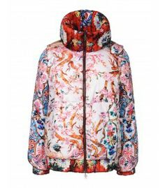 Fiest Blossom Nylon Down Jacket