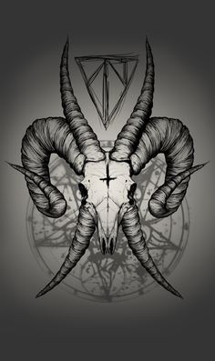 Ossuary - Ilustração digital com tema dark, futuramente estampará camisetas de fabricação própria