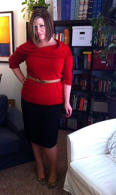 Surely Sonsy: Lady in Red