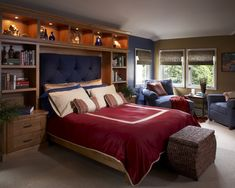Bedroom Masculine Bedrooms Design, Pictures, Remodel, Decor and Ideas - page 7