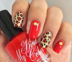 Nail Designs, Nail Art, Glitter, Nails, Makeup, Instagram Posts, Nail Ideas, Animal, Beauty