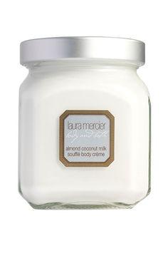 almond coconut milk body creme