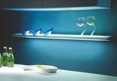 Glass Shelf Light  Model:L5.01.100   600mm   Anodized  L5.01.101   900mm   Anodized Price:Rs