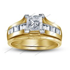 2.00 Carat Princess Cut D/VVS1 Diamond Solitaire With Accents Engagement Ring #br925silverczjewelry #SolitairewithAccents #WeddingAnniversaryEngagementBirthdayParty