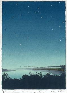 Meditations on life in philosophical watercolors. Yan Nascimbene
