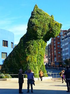 Puppy. Guggenheim, Bilbao. November 2015