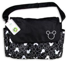 Disney Mickey Mouse Diaper Bag. ( http://kidsfashionmore.com/diaper-bags/378-disney-mickey-mouse-diaper-bag.html )