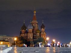 Russian Cathedrals.  This is St. Basil's in Moscow.