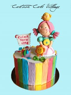 Liludori Topper  By: cenerina76  URL: http://cakecentral.com/gallery/2359278/liludori-topper