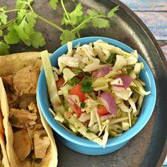 Pico de Gallo with Cabbage  (Mexican Coleslaw) - Allrecipes.com