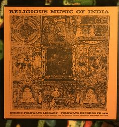 Religious Music Of India  1952 ETHNIC FOLKWAYS LIBRARY  FE 4431