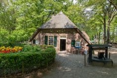 keuterboerderij uit Vierhouten, overgeplaatst naar Openluchtmuseum Arnhem