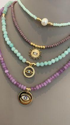 Bijoux Design, Gold Jewellery Design, Schmuck Design, Diy Necklace, Fashion Necklace, Fashion Jewelry, Cute Jewelry, Beaded Jewelry, Jewelry Drawing