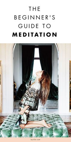 Meditation 101: A beginner's guide