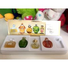 Christian Dior La Collection Exclusive Gift Set 4 Miniatures Never Used In Box in Health & Beauty > Fragrances > Women's Fragrances Miss Dior, Fragrances, Christian Dior, Miniatures, Perfume, Pure Products, Box, Health, Gifts