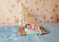 Newborn Raft Photography Prop