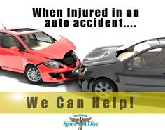 A combination of chiropractic and massage therapy performed within the first six weeks following your auto accident will optimize the resolution of soft tissue injuries
