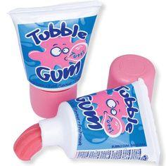 Les chewing-gum en tube ! Que de souvenirs ! Dans la trousse à l'école il trouvait facilement sa place.