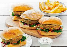 Free chickpea burgers with kale and beetroot slaw recipe. Try this free, quick and easy chickpea burgers with kale and beetroot slaw recipe from countdown.co.nz.