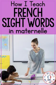 Classroom tips & tricks, resources and teaching ideas for the primary French classroom - immersion or French first-language Word Work Activities, Language Activities, Spanish Activities, Writing Activities, Toddler Activities, Teaching Time, Teaching French, Teaching Reading, Teaching Ideas