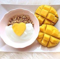 mango desayuno
