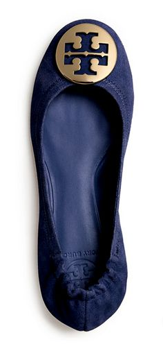 Tory Burch's iconic Reva ballet flat, known for its timeless design and perfect fit, is the epitome of effortless chic.