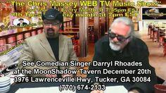 Darryl Rhoades Promo For Dec 20th at the MoonShadow Tavern