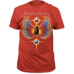 BandTees is your best source for hard to find music t-shirts. We scour the planet to bring you the best quality and officially licensed band tees. Rock Tees, Rock T Shirts, Band Merch, Band Tees, Journey Band, Steve Perry, Nirvana, My Style, Mens Tops