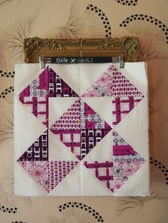 PURPLE! by ImAGingerMonkey, via Flickr, maybe use up my leftover purple pieces and do this