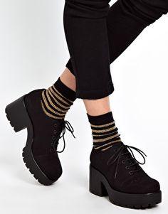 Vagabond | Vagabond Dioon Lace Up Heeled Shoes at ASOS