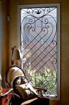 ventanas de herrería artística,: