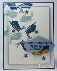 Congratulations Grad by teal29 - Cards and Paper Crafts at Splitcoaststampers