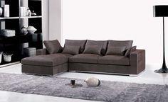 Frete grátis móveis de 2013 nova sala de estar em forma de L sofá de canto, Modernos seccionais tecido F9062(China (Mainland))