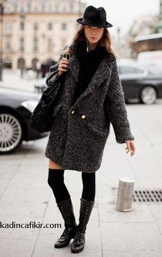 Beautiful Gray/Black Mohair Long Coat One Size Long Cardigan Coat, Hooded Cardigan, Mustard Yellow, Wool Coat, Teal, Plaid, Long Sleeve, Model, Women's Clothing