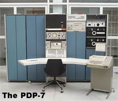 The DEC PDP-7 | Criação de Sites | Construção de Sites | Web Design | SEO | Portugal | Algarve |  http://www.novaimagem.co.pt