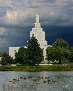 Idaho Falls, ID LDS Temple