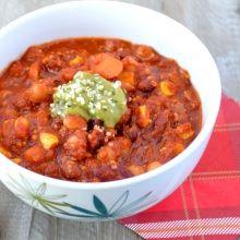 Vegetarian Chili   Manitoba Harvest - Hemp Foods