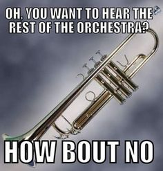 But u complain about not hearing the woodwinds but thats none of my business. ..